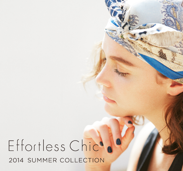 2014 SUMMERCOLLECTION  【WEB CATALOG】