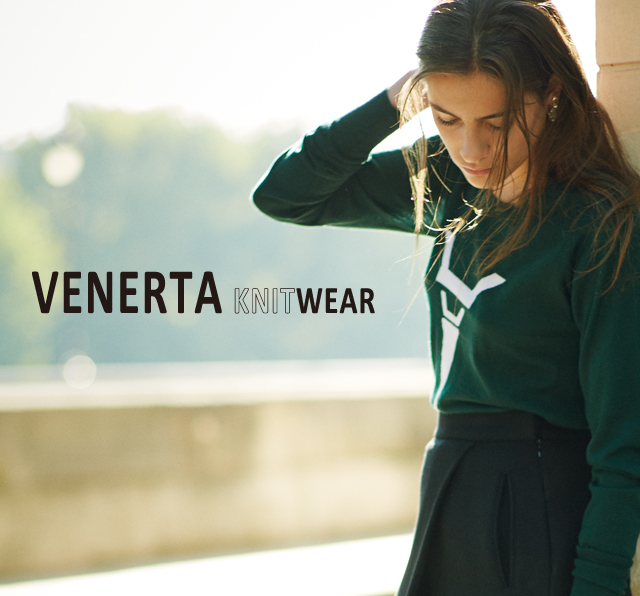 ≪VENERTA KNIT WEAR≫2014A/W Collection開催