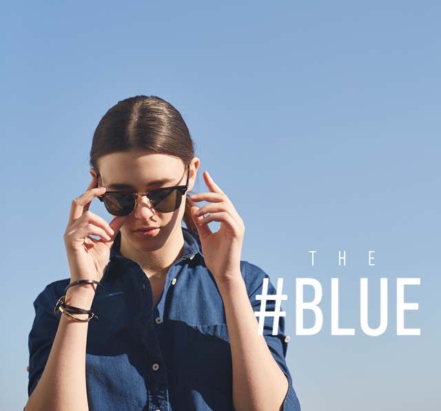 『THE #BLUE』 STYLING CATALOG