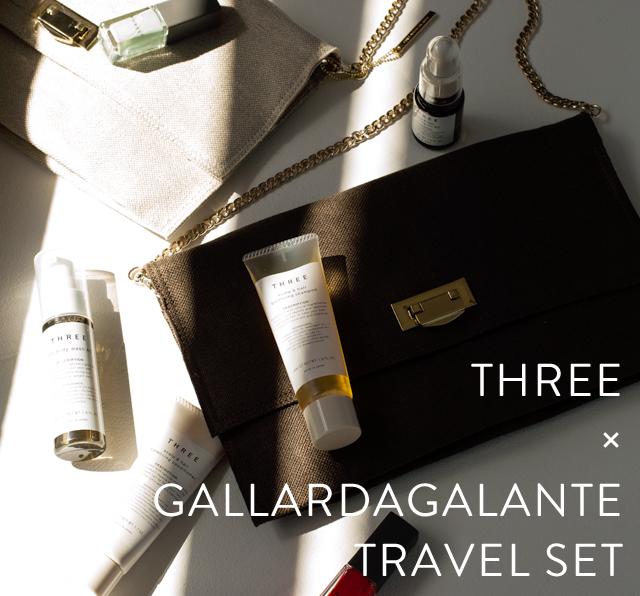 GALLARDAGALANTE TRAVEL SET with THREE DEBUT!