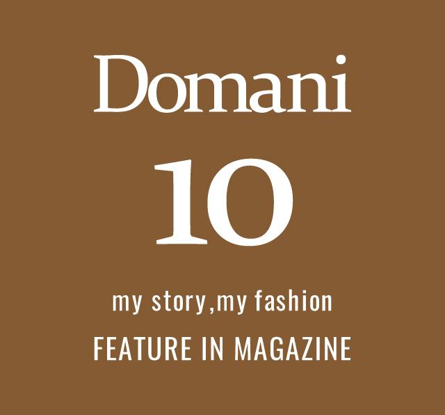 Domani10月号掲載アイテムのご紹介