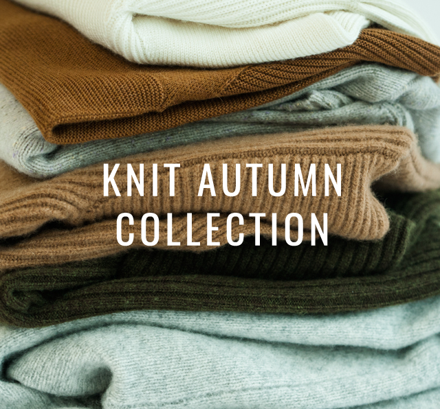 KNIT AUTUMN COLLECTION開催
