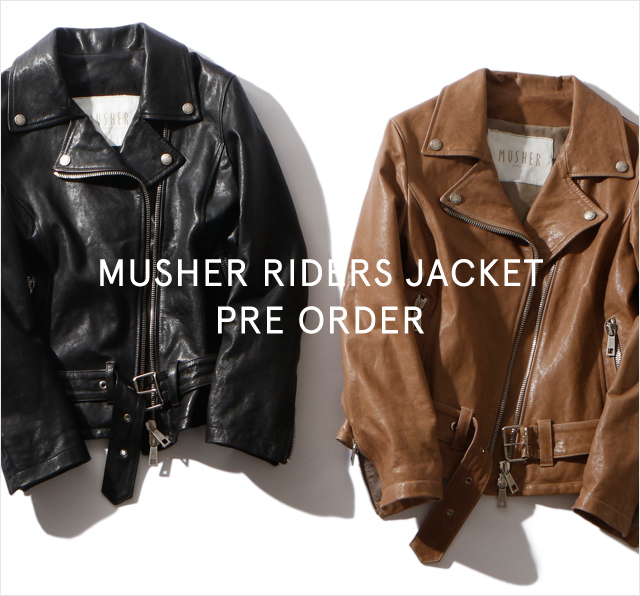 MUSHER RIDERS JACKET -PRE ORDER-