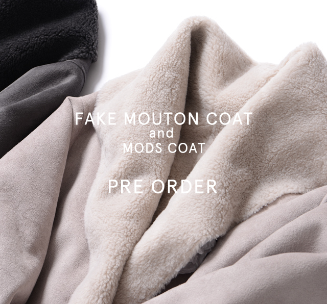 fake coat preorder
