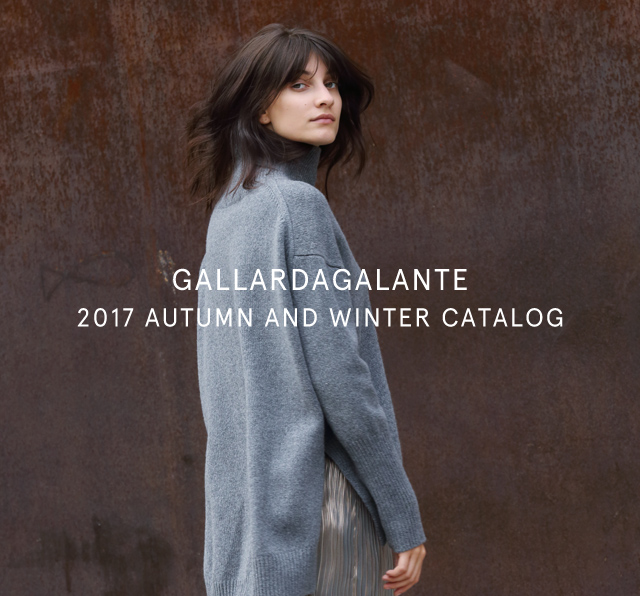 2017.09.01</br>AUTUMN AND WINTER 2017 CATALOG