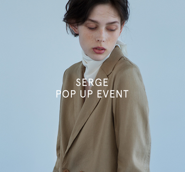 SERGE POP UP EVENT