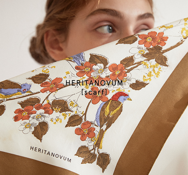 HERITANOVUM [scarf]PRE ORDER